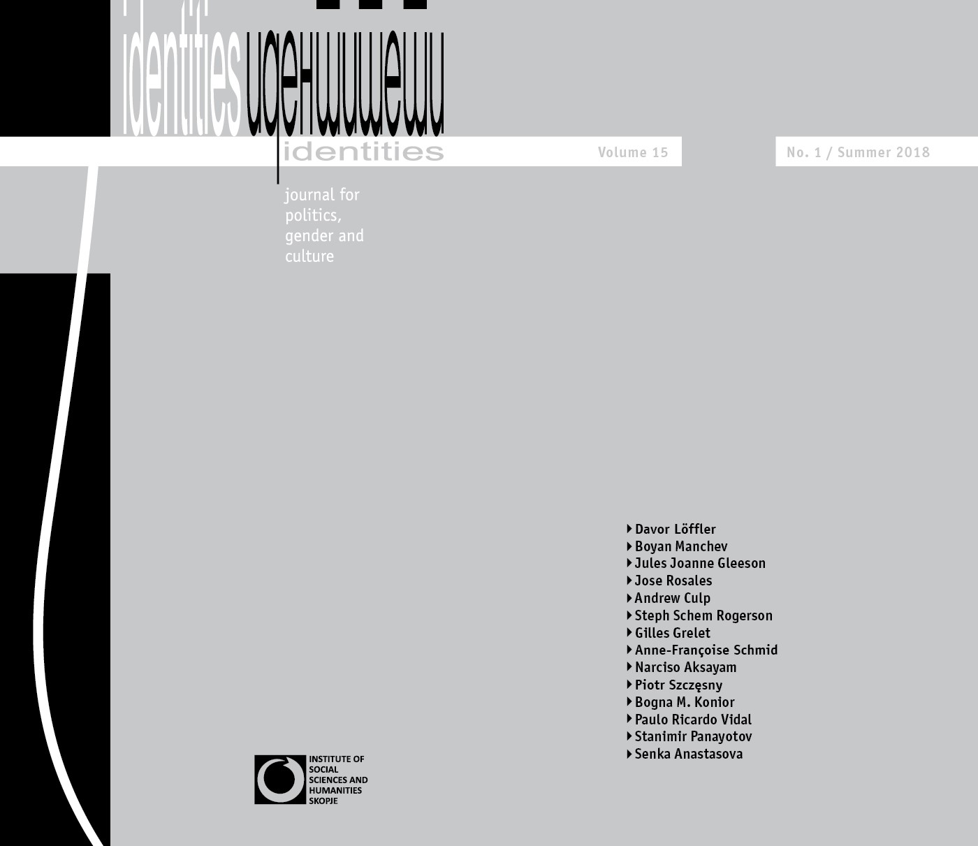 View Vol. 15 No. 1-2 (2018): Vol. 15, No. 1-2 (Summer - Winter 2018) - Issue No. 28-29