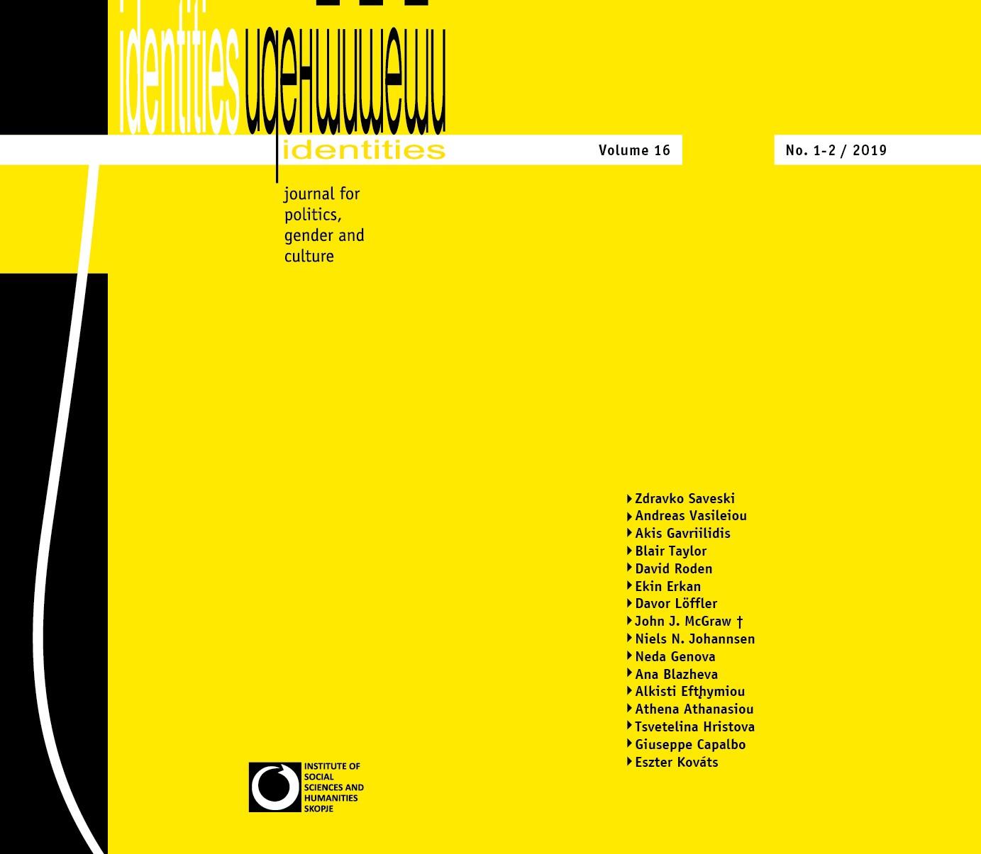 Vol. 16, No. 1-2 (Summer - Winter 2019) - Issue No. 30-31